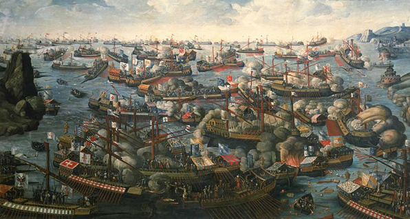 Battle of Lepanto from the National Maritime Museum